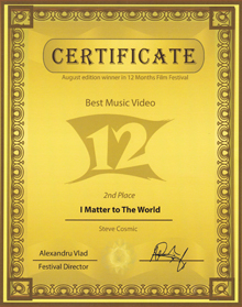 picture of best music video award